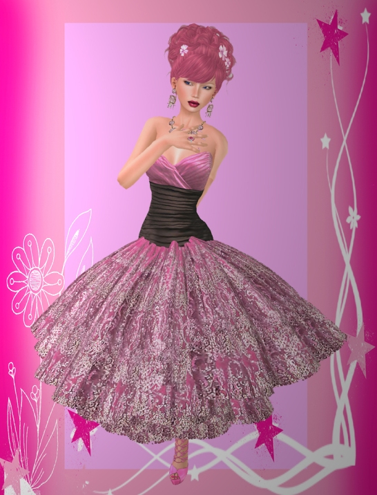 Marja Pink Babygirl Doll