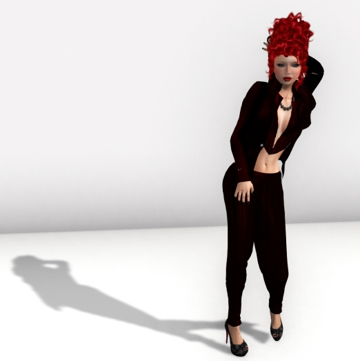 Sexy Marja Deep Red